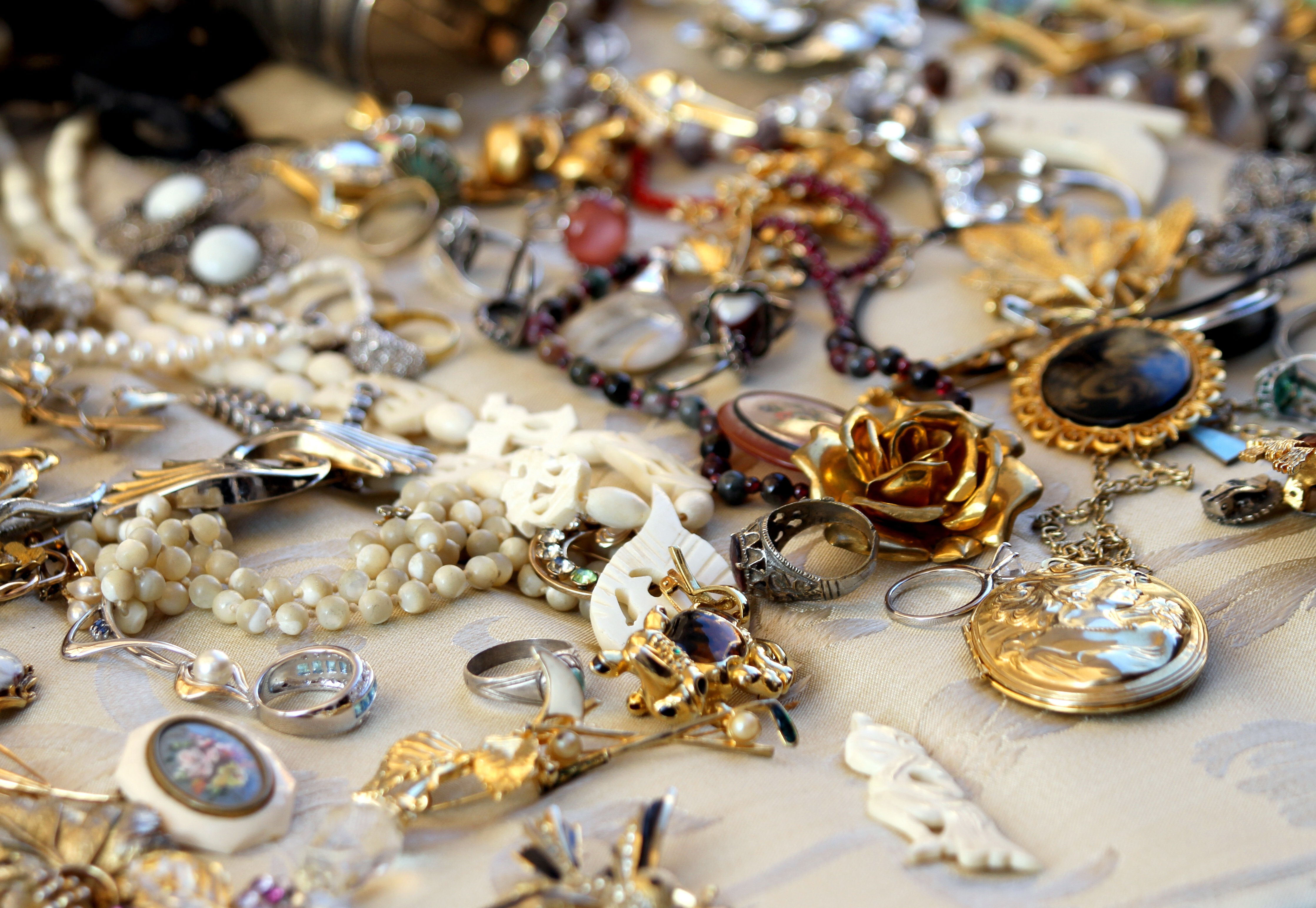 Do Not Dump All Your Jewelry At One Place